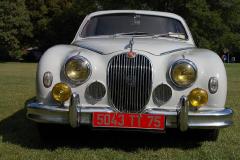 Jaguar Mark 1 Saloon Pearl Grey 1958 Front View