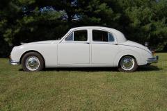 Jaguar Mark 1 Saloon Pearl Grey 1958 Driver Side View