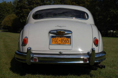 Jaguar Mark 1 Saloon Pearl Grey 1958 Rear View