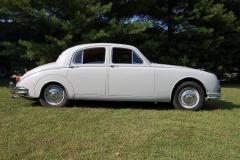 Jaguar Mark 1 Saloon Pearl Grey 1958 Passenger Side View