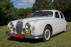 Jaguar Mark 1 Saloon Pearl Grey 1958