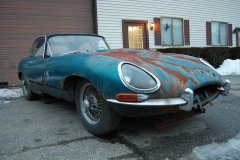 Jaguar XKE Series 1 Coupe Blue 1964
