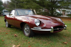 Jaguar XKE Roadster Series 1 5 Burgundy 1967