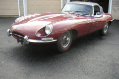 Jaguar Series 1.5 Roadster Burgundy 1968