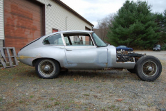 Jaguar XKE 2 Plus 2 Coupe Grey 1968 Passenger Side View