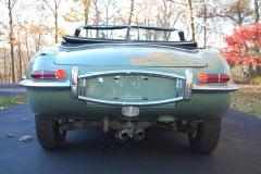 Jaguar XKE Series 1.5 Roadster Green 1968 Rear View