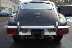 Jaguar XKE Series 2 2 Plus 2 Coupe Black 1969 Rear View