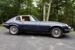 Jaguar XKE Series 2 Coupe Blue 1969 Passenger Side View