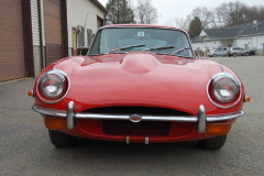 Jaguar XKE Series 2 Coupe Red 1969 Front View