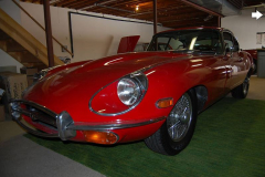 Jaguar XKE Series 2 Coupe Red 1969