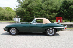 Jaguar XKE Series 2 Roadster Green 1969 Driver Side View