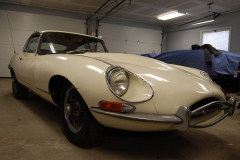 Jaguar XKE E Type Series 2 Coupe White 1970