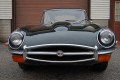 Jaguar XKE Series 2 Coupe 2 Plus 2 Green 1970 Front View