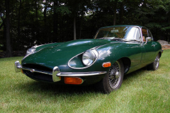Jaguar XKE Series 2 Coupe Green 1970