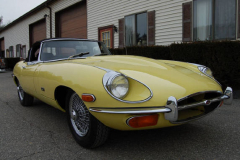 Jaguar XKE Series 2 Roadster Yellow 1971