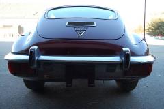 Jaguar XKE Series 3 Coupe Burgundy 1972 Rear View