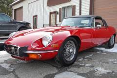 Jaguar XKE Series 3 Roadster Red 1973