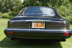 Jaguar XJS Coupe Black 1994 Rear View