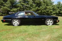 Jaguar XJS Coupe Black 1994 Passenger Side View