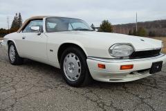 Jaguar XJS Convertible White 1995