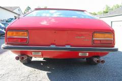 Lamborghini Jarama Red 1971 Rear View