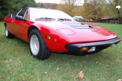 1975 Lamborghini Urraco Red