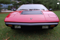 1975 Lamborghini Urraco Red Front View