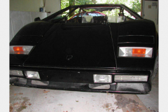 Lamborghini 1985 Countach Black Salvage
