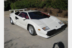 Lamborghini Countach White 1988