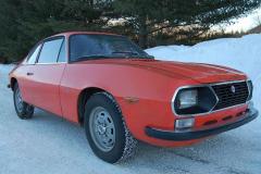 Lancia Fulvia Zagato Red 1973