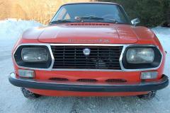 Lancia Fulvia Zagato Red 1973 Front View