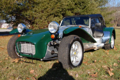 Lotus Super 7 Caterham Green 2003 Front View