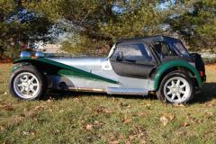 Lotus Super 7 Caterham Green 2003 Driver Side View