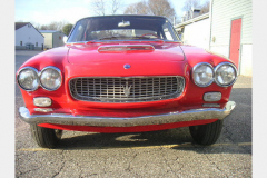 Maserati Sebring Red 1963 Front View