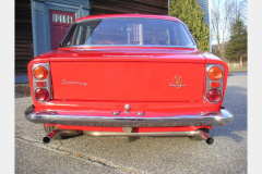 Maserati Sebring Red 1963 Rear View