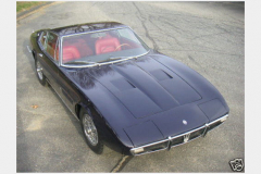Maserati Ghibli Coupe Blue 1967
