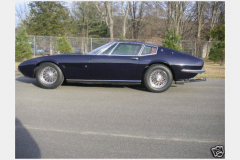 Maserati Ghibli Coupe Blue 1967 Driver Side View