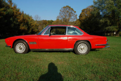 Maserati Mexico Red 1968 Driver Side View