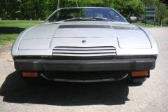 Maserati Khamsin Silver 1977 Front View