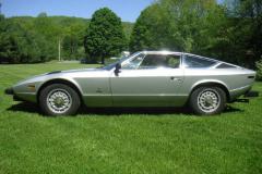 Maserati Khamsin Silver 1977 Driver Side View