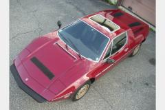Maserati Merak Burgundy 1980