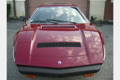 Maserati Merak Burgundy 1980 Front View
