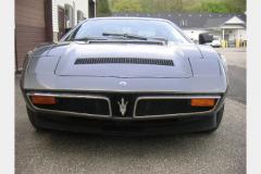 Maserati Bora Anthracite 1977 Front View