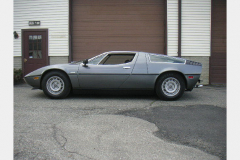 Maserati Bora Anthracite 1977 Drivers Side View