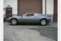 Maserati Bora Anthracite 1977 Drivers Side View