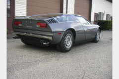 Maserati Bora Anthracite 1977 Passenger Side View