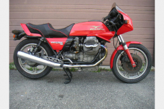 Moto Guzzi LeMans III Red 1983