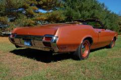 Oldsmobile Convertible Bittersweet 1971
