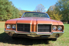 Oldsmobile Convertible Bittersweet 1971 Front View