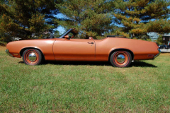 Oldsmobile Convertible Bittersweet 1971 Driver Side View